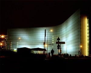 Photographie d'architecture © sacha lenormand Bâtiment : Le Berlaymont, Bruxelles. Architecte : De Vestel.