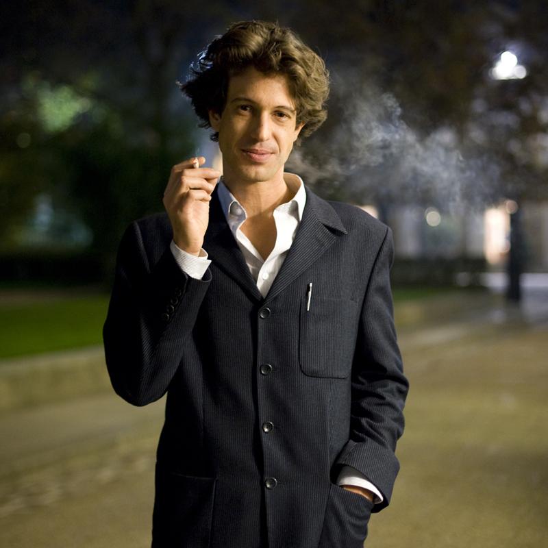 Portrait d'Harold Cobert, lauréat du Prix du Style 2010 pour L'Entrevue de Saint-Cloud, Editions Héloïse d'Ormesson.