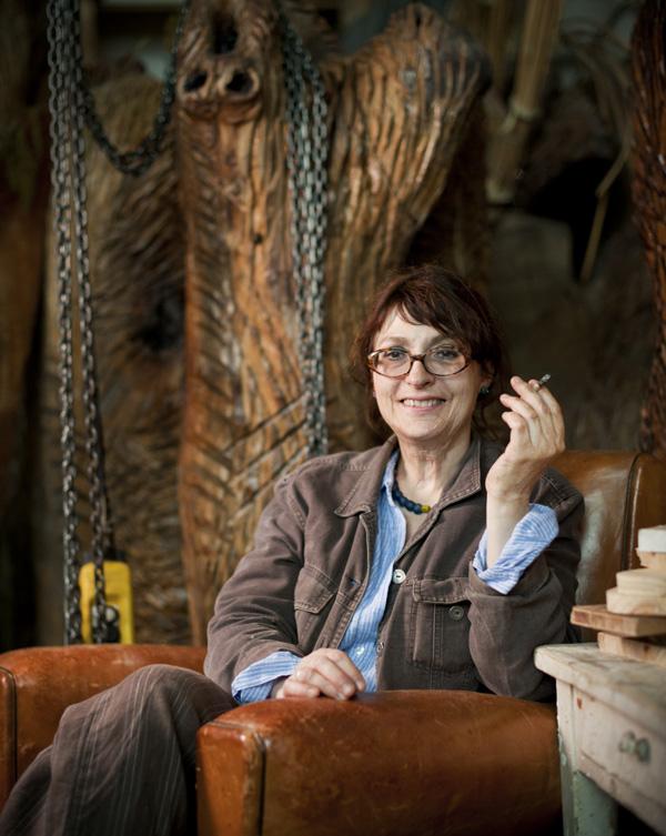 Evelyne Boinot, Sculpteur Céramiste. Photographie © Sacha Lenormand