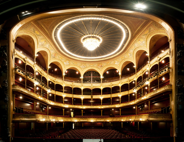 Théâtre du Châtelet, Paris. © Sacha Lenormand