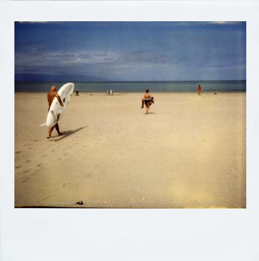 Polaroid Delta de l'Ebre, Espagne 2006 © Sacha Lenormand, Photographe Paris