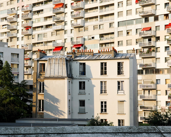 Paysage Urbain Paris © Sacha Lenormand