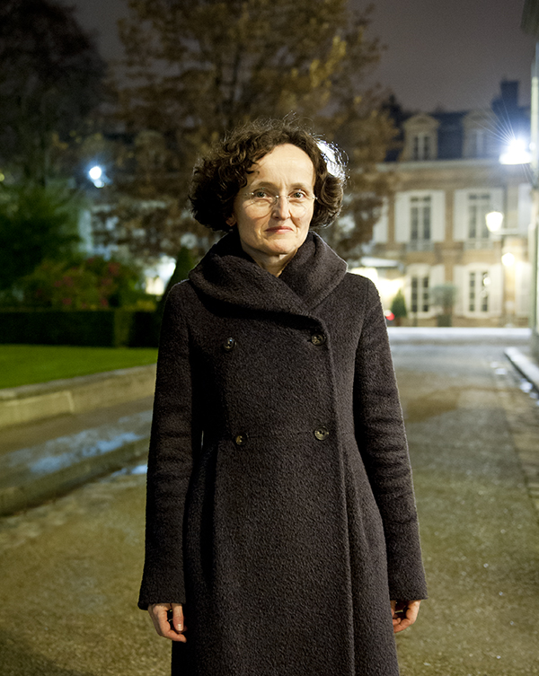 Marie Hélène Lafon Ecrivain, photo © Sacha Lenormand