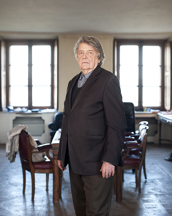 Portrait de jean Pierre Mocky © Sacha Lenormand