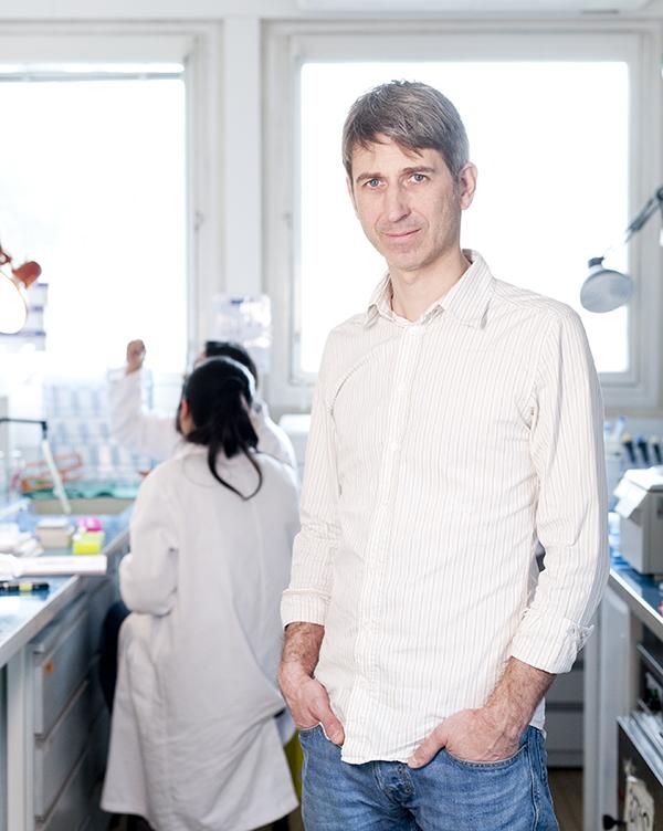 Carsten Janke chercheur, Institut Curie © Sacha Lenormand