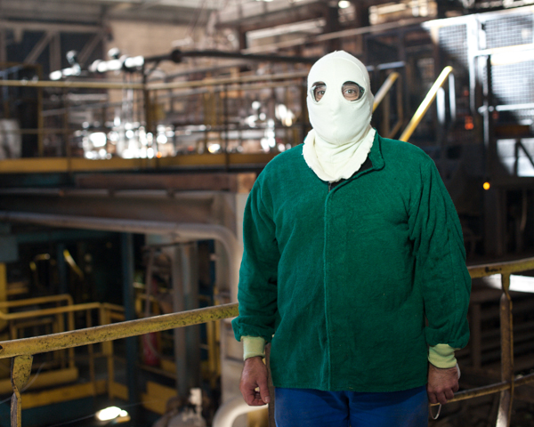 Portraits en usine © Sacha Lenormand Photographe